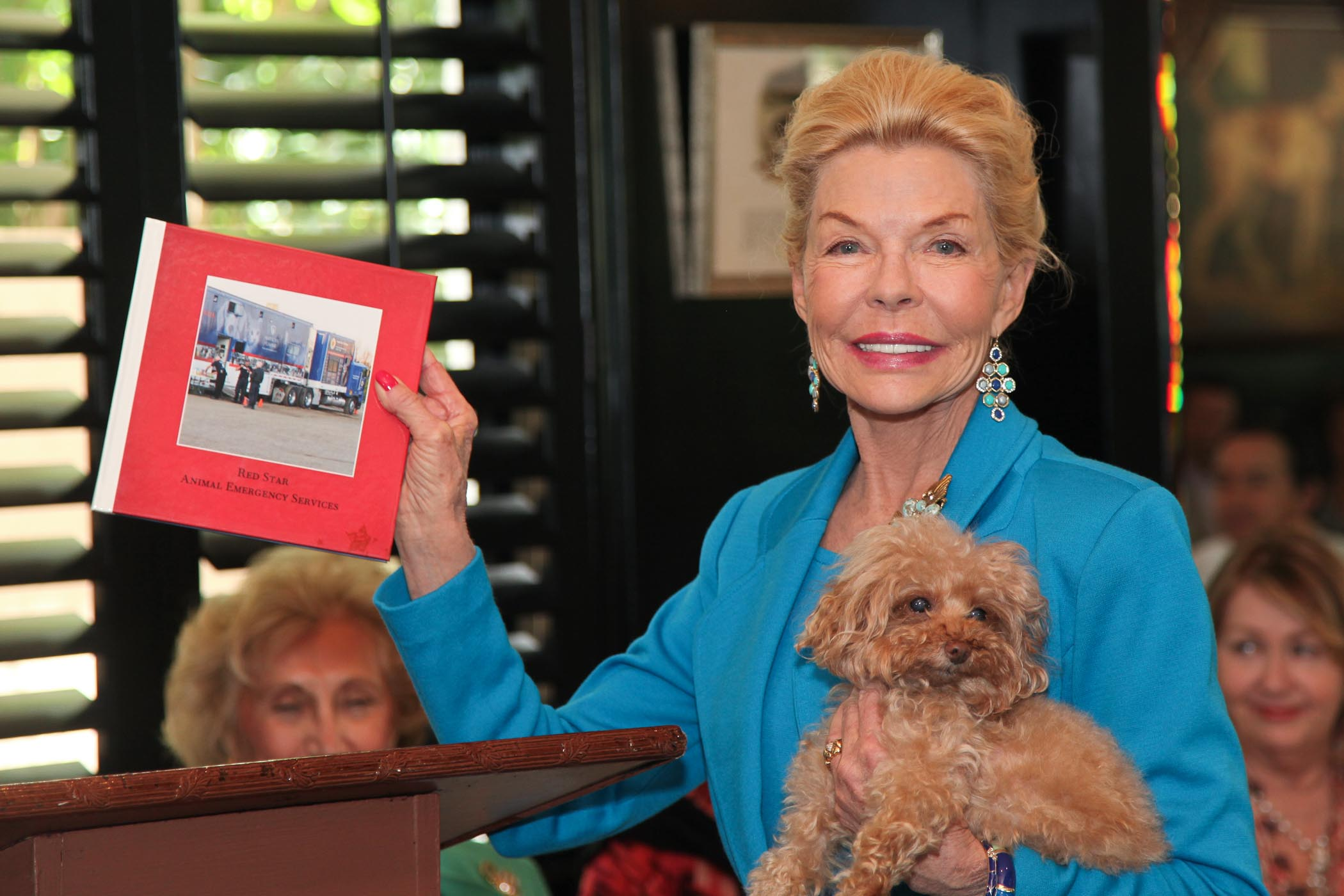 Philanthropist Lois Pope